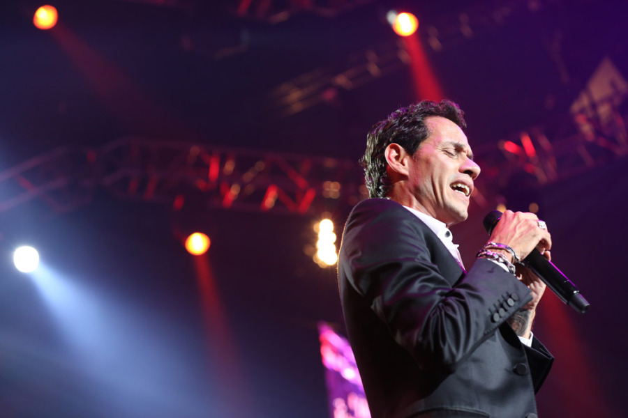 Celebrity Photographer - Marc Anthony Concert